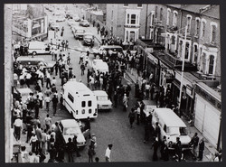 18 Brixton Riots_Uprisings. 1981. Huntley Archives at London Metropolitan Archives_Archives Series R