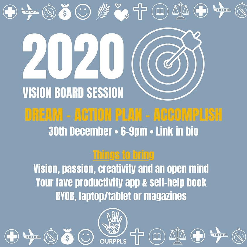 2020 Vision Board Club