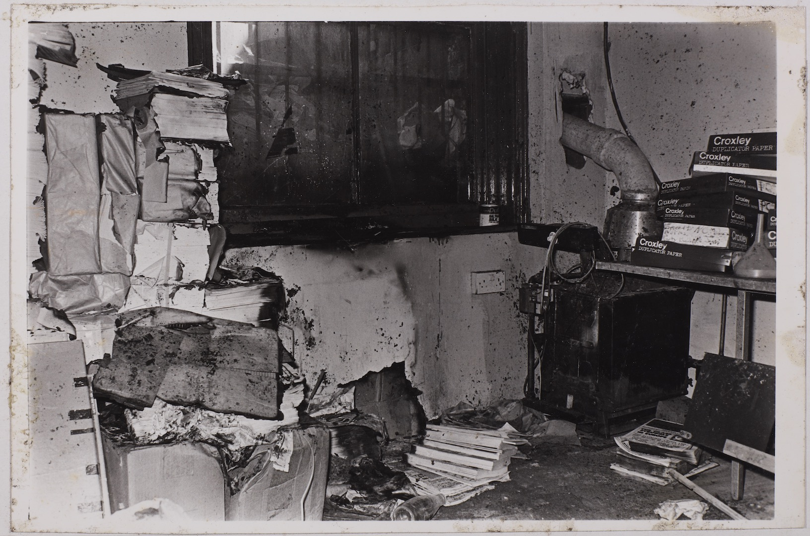 11 'The Other Bookshop Burned'. 11th April 1978. Huntley Archives at London Metropolitan Archives_Ar