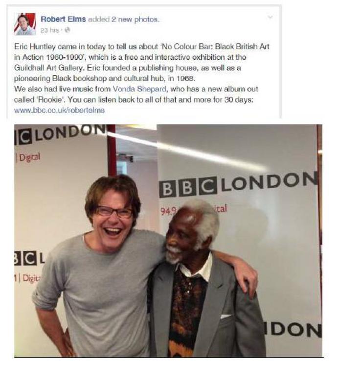 BBC Radio London 09/07/15