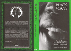 061 Black Voices-An Anthology of ACER_s Black Young Writers Competition. 1985. (Photo courtesy of Me
