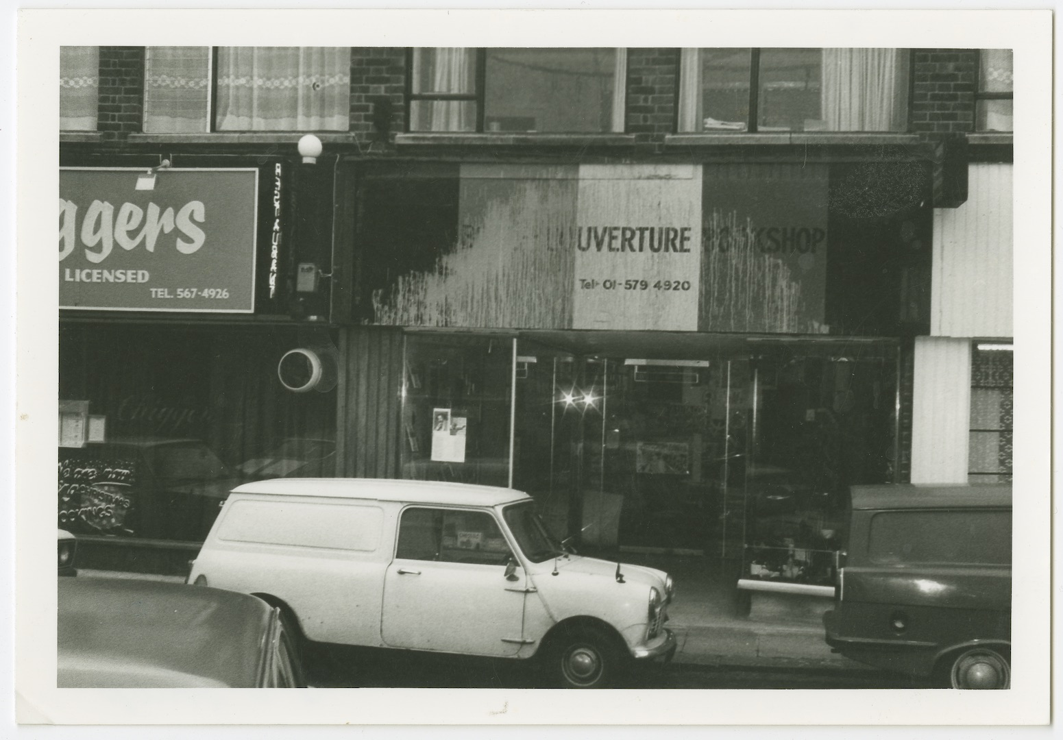 07 Racist Attack on Bogle L'Ouverture Bookshop. c1970s. Huntley Archives at London Metropolitan Arch
