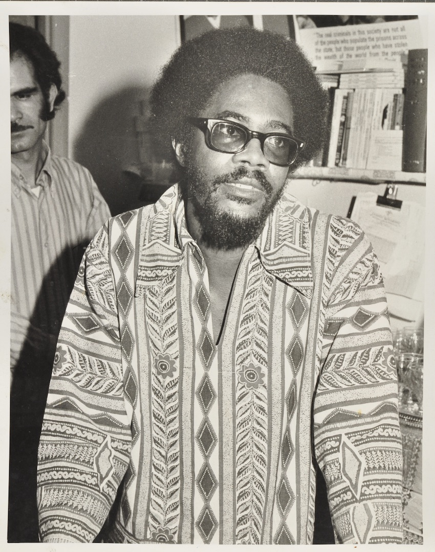 05 Walter Rodney (speaking). Huntley Archives at London Metropolitan Archives