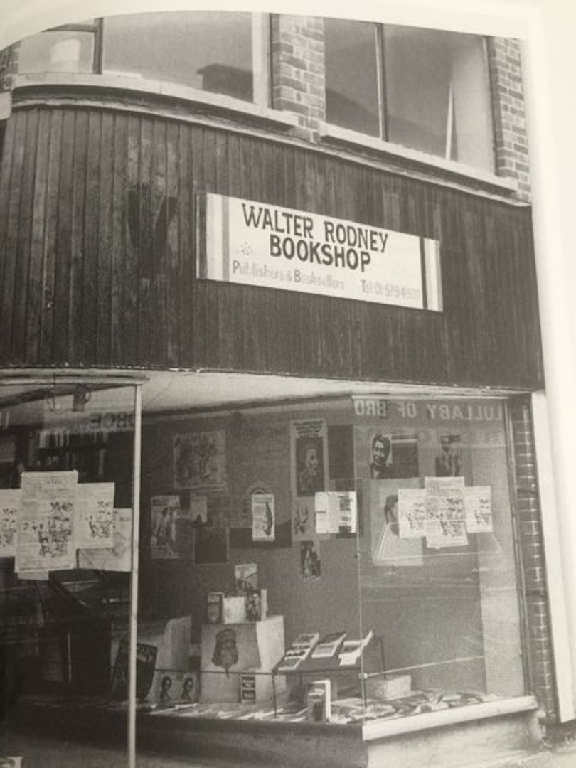 20 Walter Rodney Bookshop. c1980s. (Photo courtesy of Mervyn Weir)