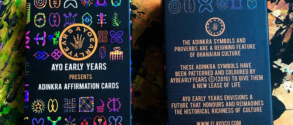 Adinkra Affirmation Cards