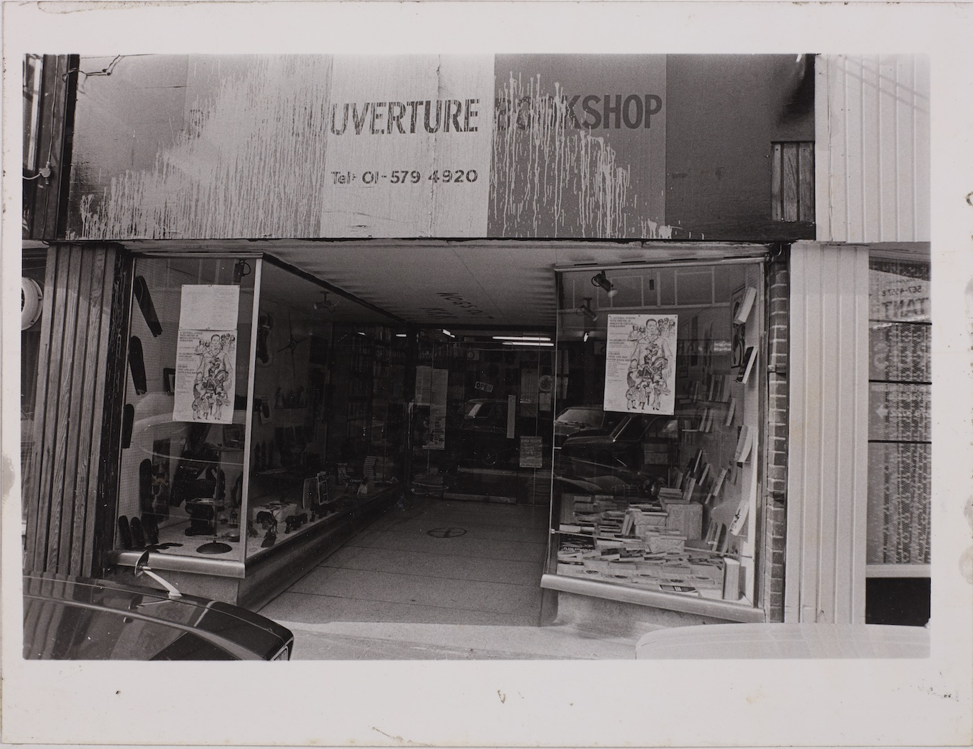 08 Racist Attack on Bogle -L'Ouverture Bookshop. c1970s. Huntley Archives at London Metropolitan Arc