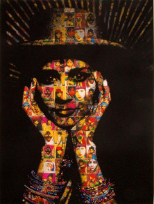 Chila Kumari Burman, Auto Portrait, 1995, inkjet on canvas (c) The Artist copy.jpg
