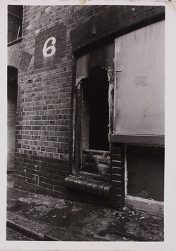 06 SWP (Socialist Workers Party) Office burned. 3rd July 1977. Huntley Archives at London Metropolit