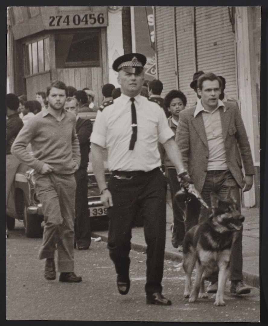19 Brixton Riots_Uprisings. 1981. Huntley Archives at London Metropolitan Archives_Archives Series R