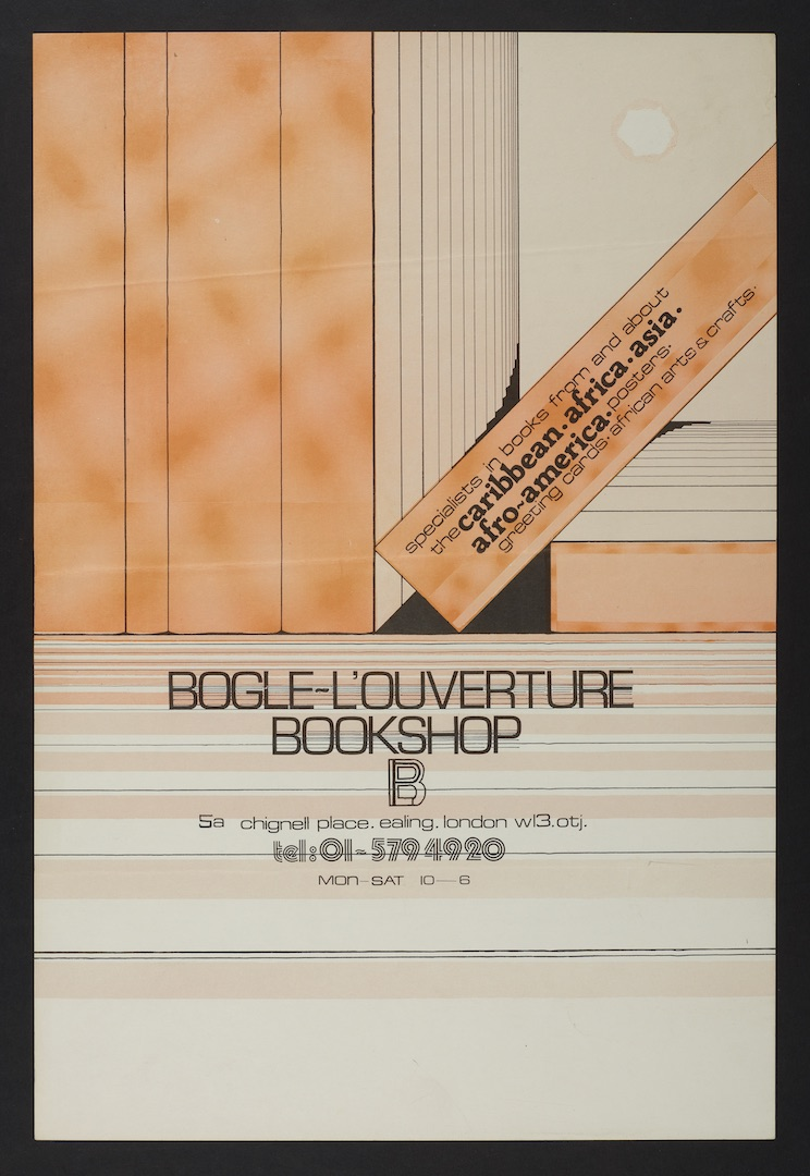 19 Bogle-L'Ouverture Bookshop (poster). c1970s. Huntley Archives at London Metropolitan Archives_Arc
