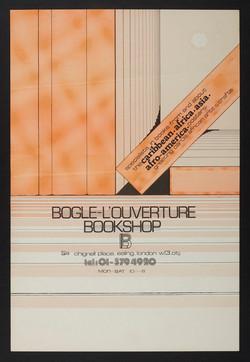 19 Bogle-L'Ouverture Bookshop (poster). c1970s. Huntley Archives at London Metropolitan Archives_Arc