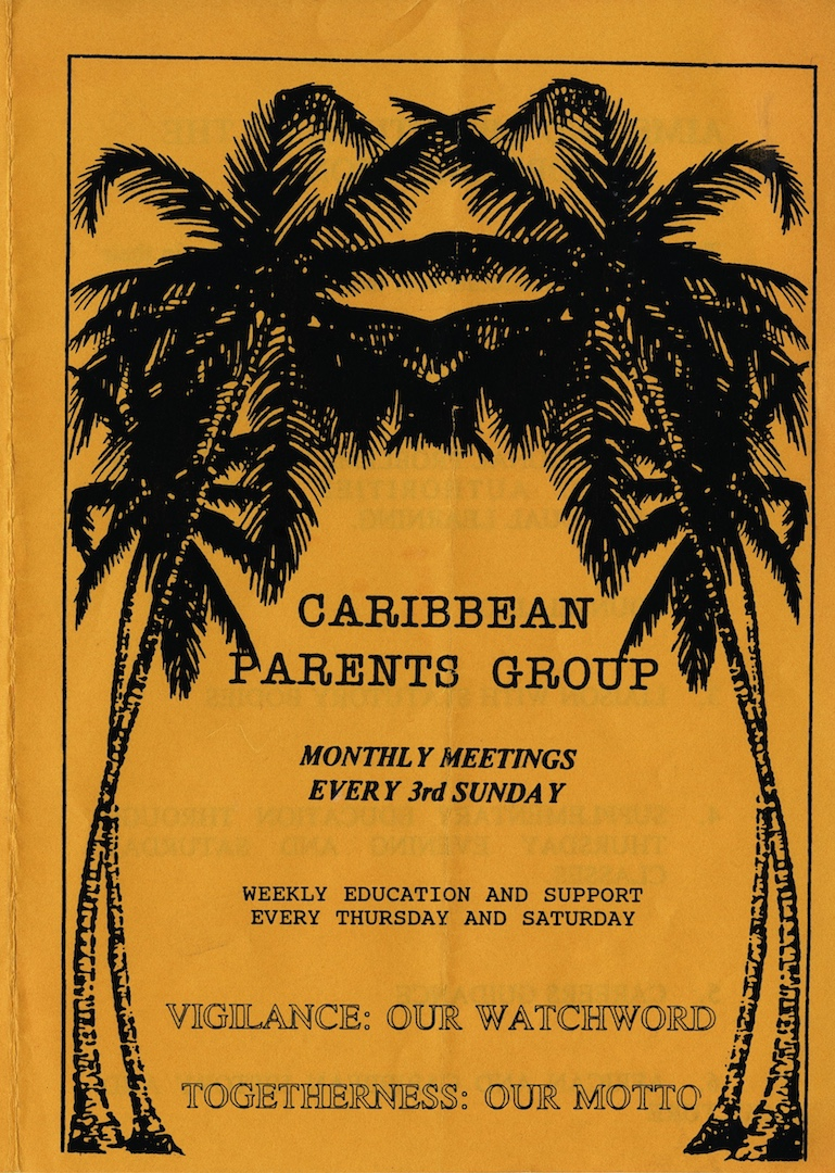 01 Caribbean Parents Group Monthly Meetings. c1970s. Huntley Archives at London Metropolitan Archive