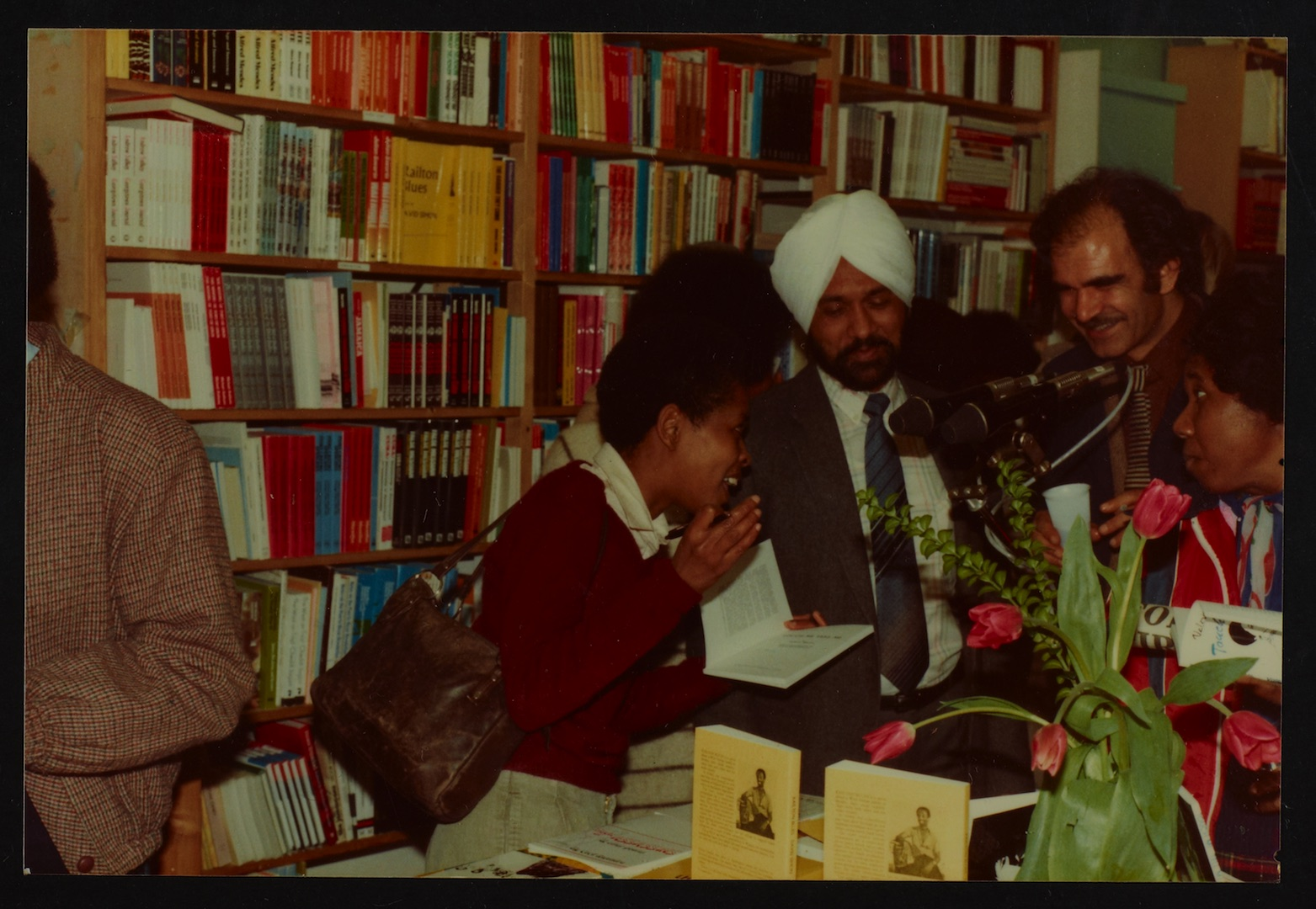 17 Valerie Bloom (talking with audience members) _ Firdous Ali. Huntley Archives at London Metropoli