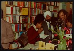 17 Valerie Bloom (talking with audience members) _ Firdous Ali. Huntley Archives at London Metropoli