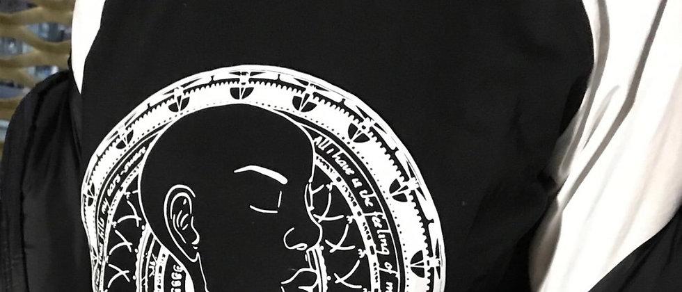 """""""Breathe"""" Quarter Length T-Shirt"""