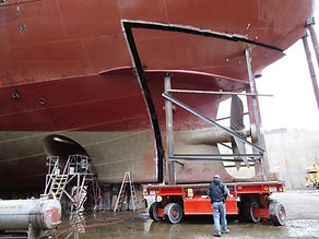 Existing Stern Being Cut out 6.JPG
