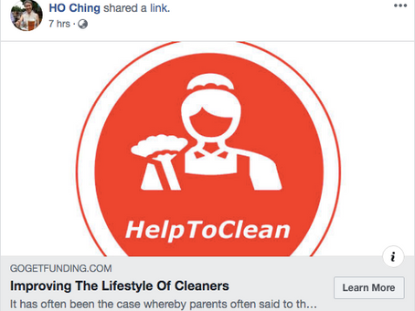 Please Help Our Unsung Heroes, Cleaners, by Improving Their Lifestyle