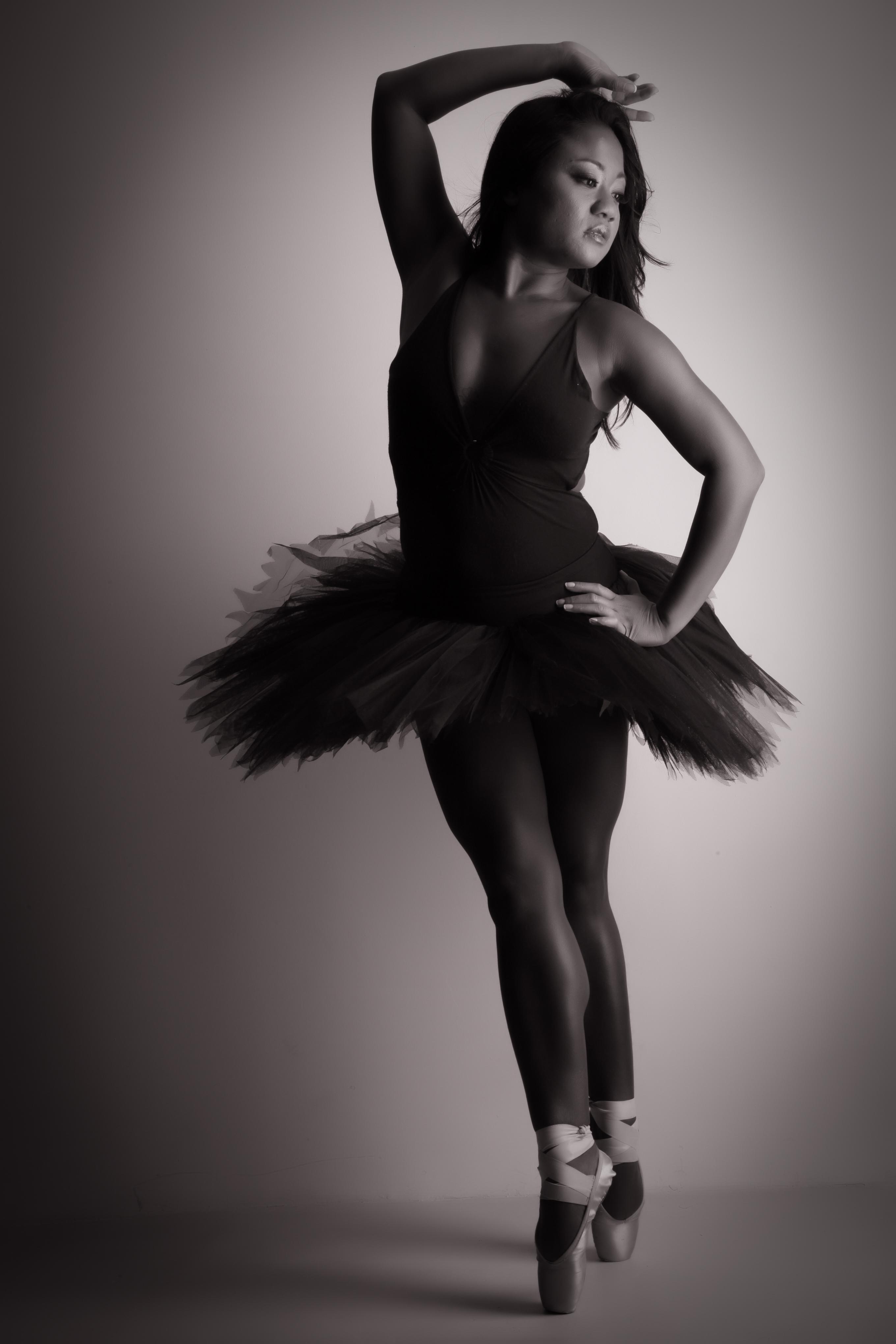 shooting photo femme danseuse