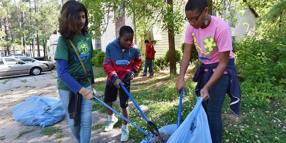 Cleaning Across The Lines, 13th & 1st District Community Cleanup