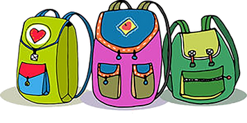 three-vector-colorful-children-backpacks