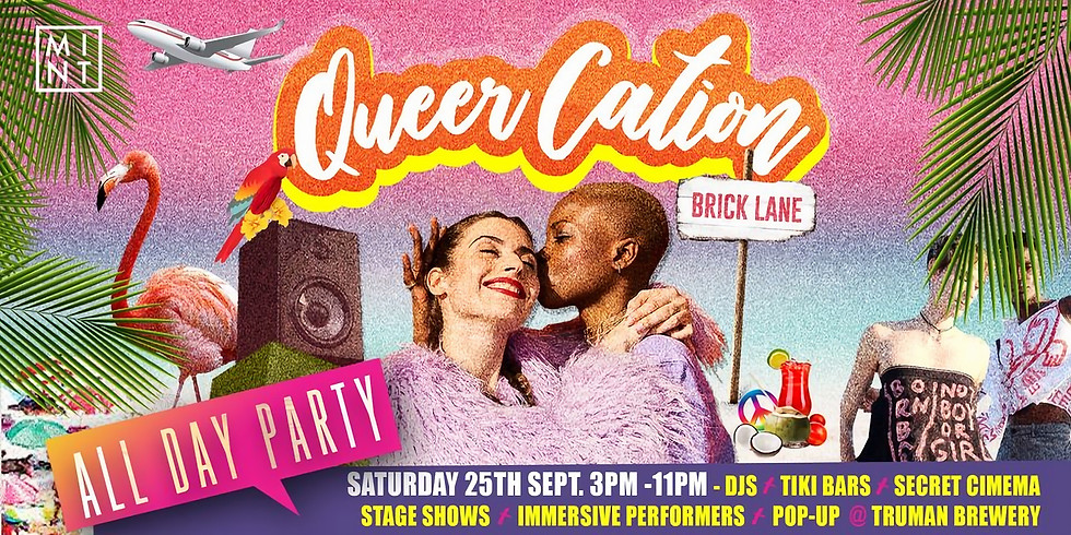 QueerCation: The All Day Tropical Party Pop-Up