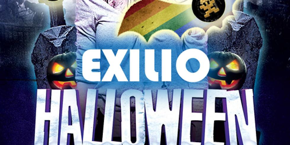 Exilio Halloween Party