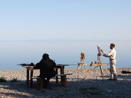 Le lac Baïkal avec Sylvain Tesson, 2010