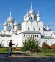 Au musée Kremlin de Rostov en Russie, 2017