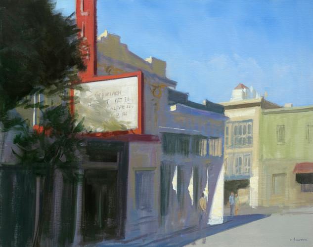 Fillmore street, huile sur toile, 92x73cm, 2015