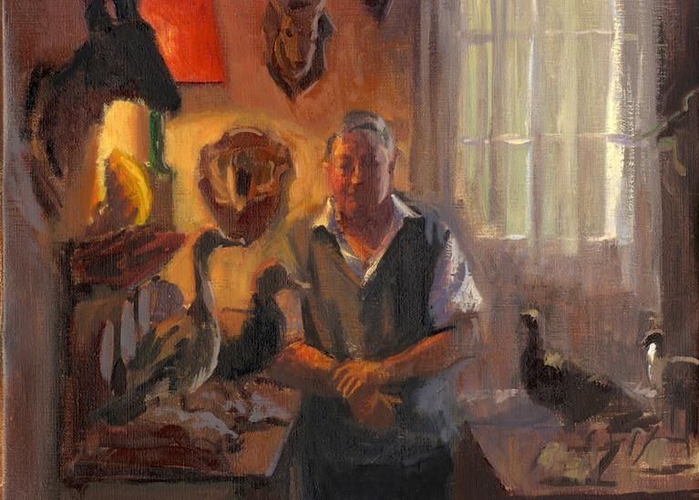 Hervé LENEPVEU, huile sur toile, 35x27cm, 2016