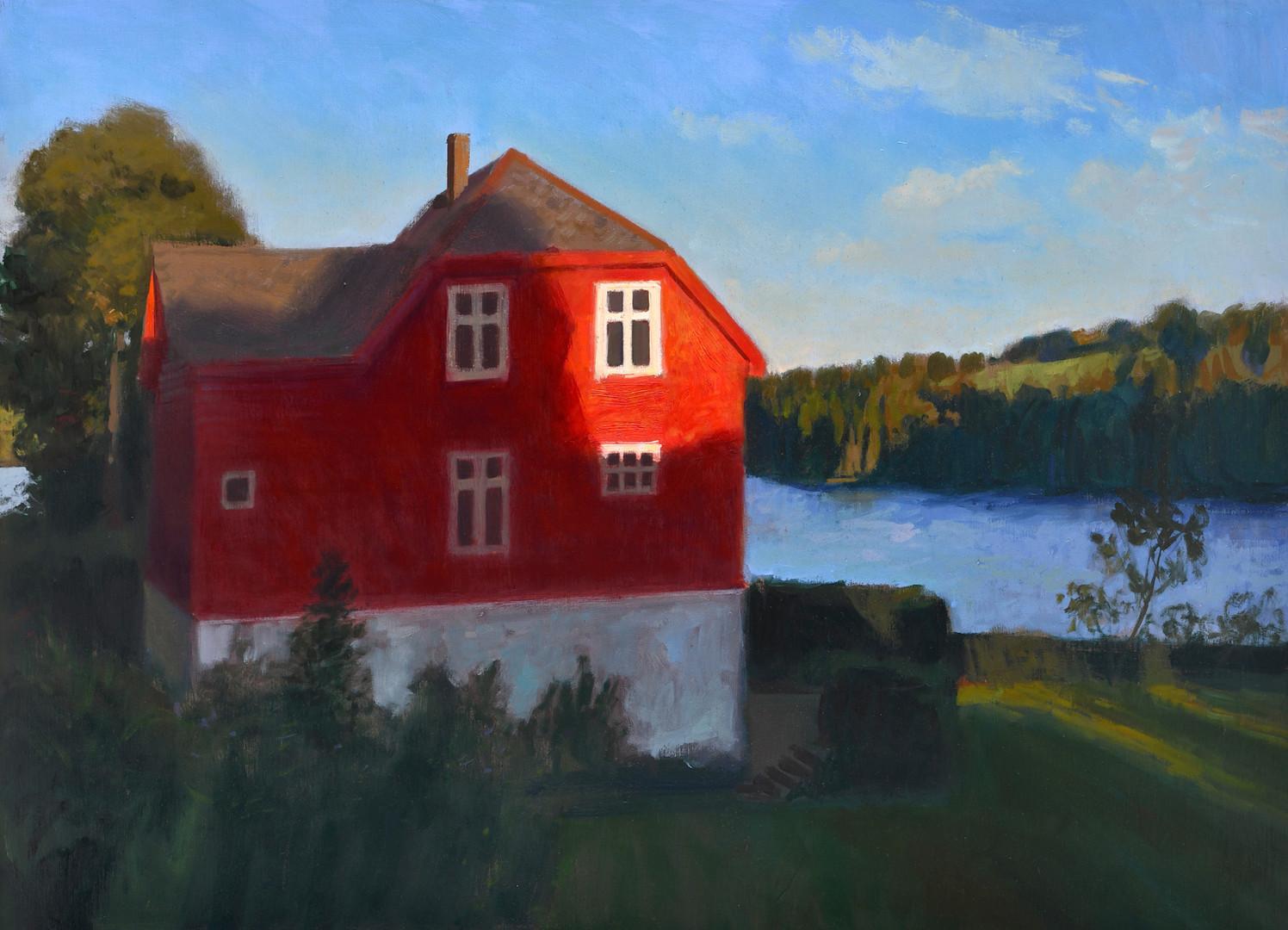 Vue sur le Fjord, huile sur toile, 100x73cm, 2019 .jpg