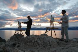 Le lac Baïkal avec Bertrand de miollis, 2010