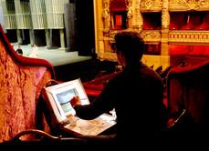 Dans les loges de l'Opéra Garnier, 2014