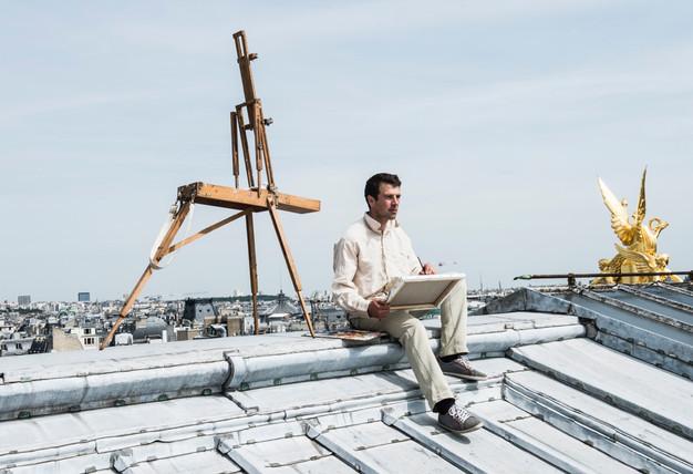 Sur les toits de l'Opéra Garnier, 2014