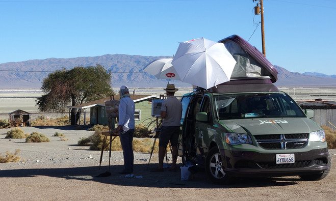 Death valley en Californie avec Bertrand de Miollis, 2014