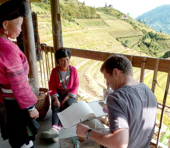 Les rizières en Chine, 2010
