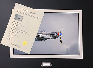 Photo Ex Tirage et certificat 1920pix_ed