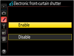 D500 Electronic Front-Curtain Shutter Analysis