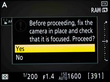 Nikon Auto AF Fine-Tune Calibration Analysis