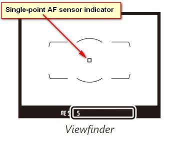 Nikon D850 Individual Focus Sensor Actual Coverage Area