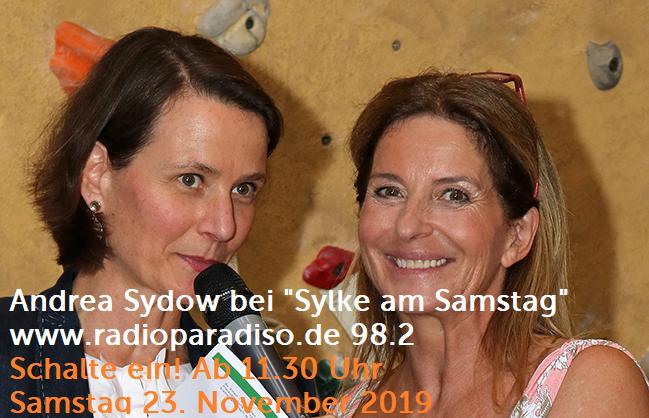 Andrea Sydow bei Sylke am Samstag bei Radio Paradiso Safe Conversations Sichere Gespräche mit Sylke Gandzior