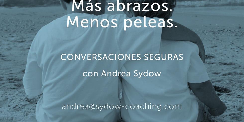 CONVERSACIONES SEGURAS online, por zoom