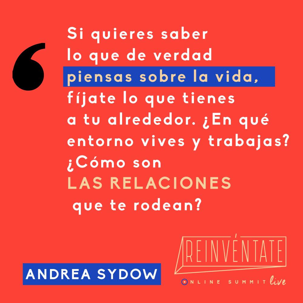 MasterClass de Perdón Radical con Andrea Sydow en el evento más provocador de habla hispana Summit Reinvéntate