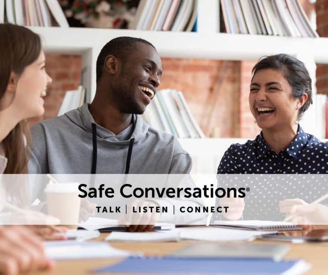 QUEDAN 5 BECAS PARA EL TALLER DE CONVERSACIONES SEGURAS EL 20 DE FEBRERO 2021