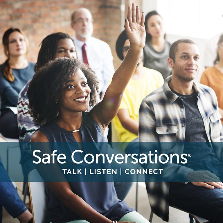 CONVERSACIONES SEGURAS 30 DE OCTUBRE VIA ZOOM