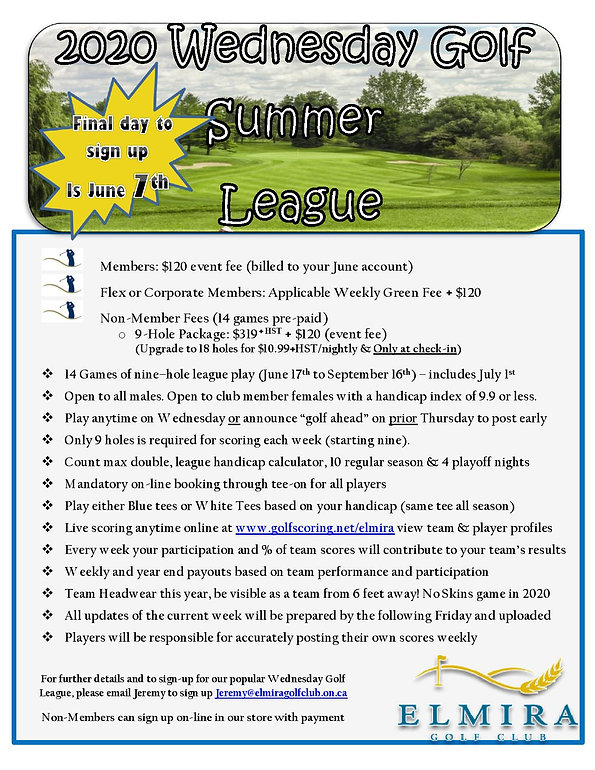 2020 Wednesday Golf League Flyer NEW-pag