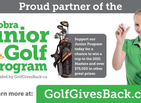 Golf Gives Back - Junior Golf