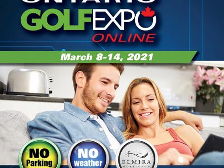 See you at Ontario Golf Expo