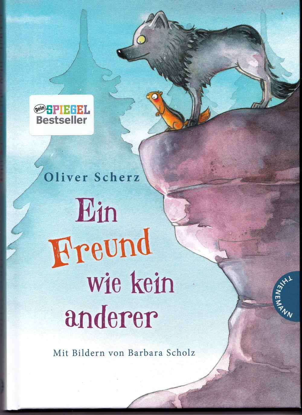 Kinderbuch über einen Wolf