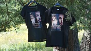"""Unsere neuen """"Menschen für Wölfe""""-T-Shirts hängen bereit"""